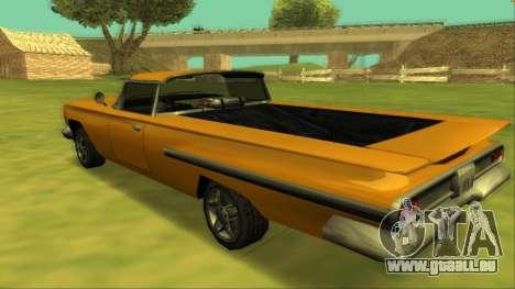 Voodoo El Camino v1 für GTA San Andreas Motor