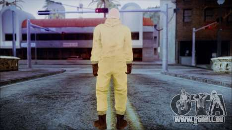 Walter White Breaking Bad Chemsuit für GTA San Andreas dritten Screenshot