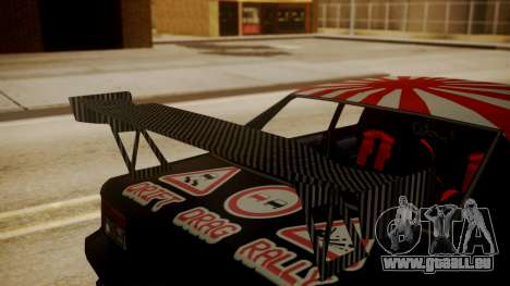 Sultan Full of Stickers für GTA San Andreas rechten Ansicht