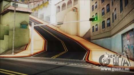 HD All City Roads pour GTA San Andreas troisième écran