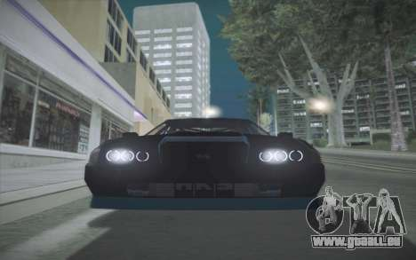 Elegy DRIFT KING GT-1 (Stok wheels) pour GTA San Andreas sur la vue arrière gauche