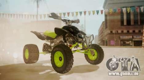 Honda TRX450 Quad pour GTA San Andreas