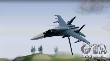 SU-35 Russian Air Force Modern Livery für GTA San Andreas