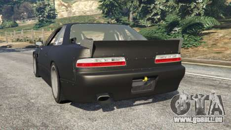 GTA 5 Nissan Silvia S13 v1.2 [without livery] hinten links Seitenansicht