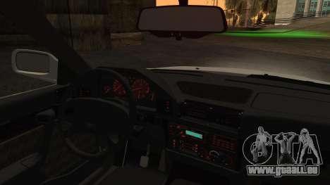 BMW 7-er E32 Stock für GTA San Andreas zurück linke Ansicht