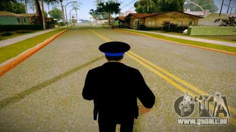 L'employé du Ministère de la Justice v3 pour GTA San Andreas quatrième écran