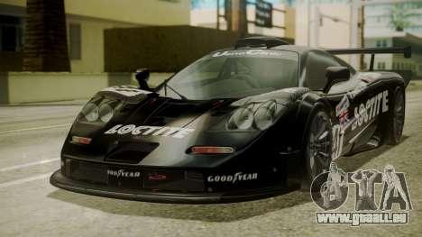 McLaren F1 GTR 1998 Loctite für GTA San Andreas