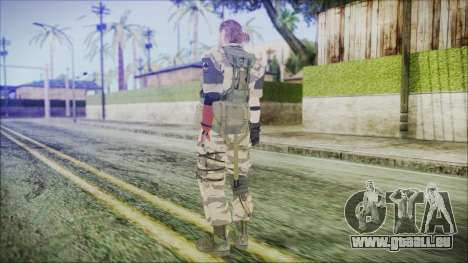 MGSV Phantom Pain Snake Normal Tiger für GTA San Andreas dritten Screenshot