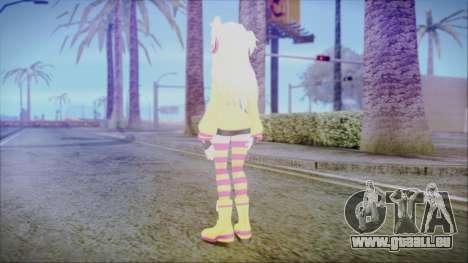 Spika [Pangya] pour GTA San Andreas troisième écran
