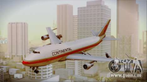Boeing 747-200 Continental Airlines Red Meatball pour GTA San Andreas