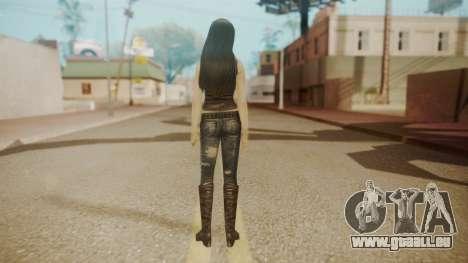 Tifa Black für GTA San Andreas dritten Screenshot