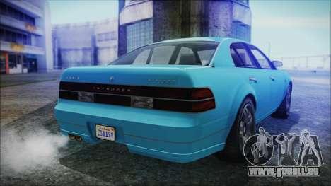 GTA 5 Karin Intruder für GTA San Andreas linke Ansicht
