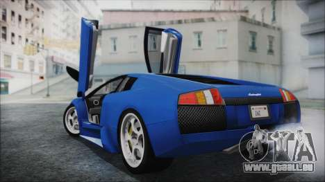 Lamborghini Murcielago 2005 Yuno Gasai HQLM für GTA San Andreas linke Ansicht