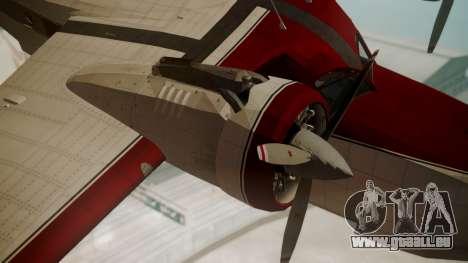 Grumman G-21 Goose VHIRM pour GTA San Andreas vue de droite