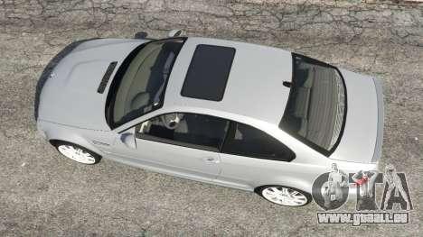 GTA 5 BMW M3 (E46) Rückansicht