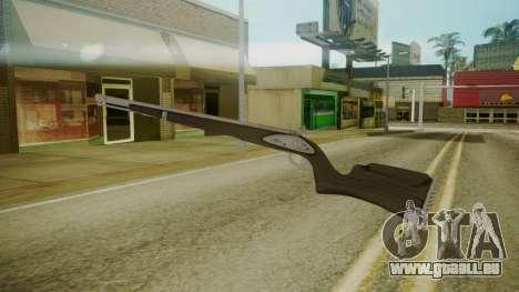 GTA 5 Rifle für GTA San Andreas dritten Screenshot