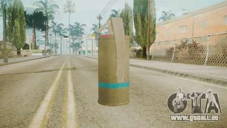 GTA 5 Tear Gas pour GTA San Andreas deuxième écran