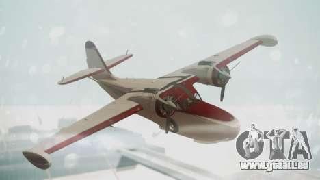 Grumman G-21 Goose VHIRM pour GTA San Andreas