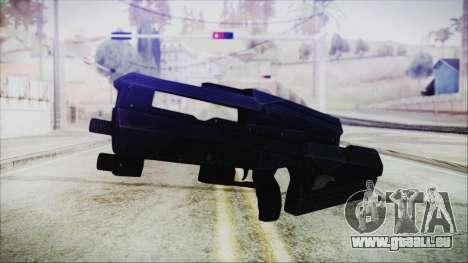 VA-1810X Sub Machine Gun für GTA San Andreas
