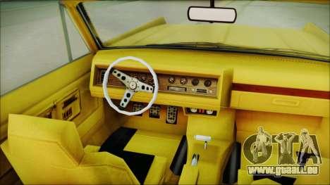 GTA 5 Vapid Chino Bobble Version pour GTA San Andreas vue de droite