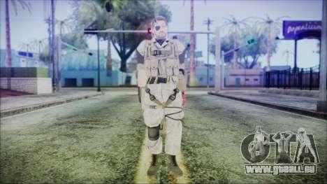 MGSV Phantom Pain Snake Normal Desert für GTA San Andreas zweiten Screenshot
