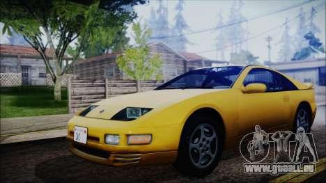 Nissan Fairlady Z Twinturbo 1993 pour GTA San Andreas sur la vue arrière gauche