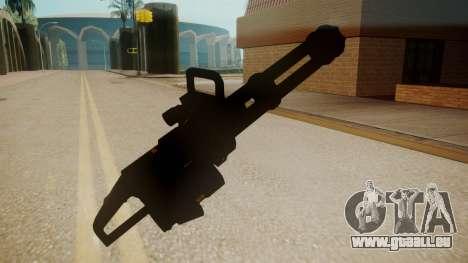 GTA 5 Minigun für GTA San Andreas dritten Screenshot
