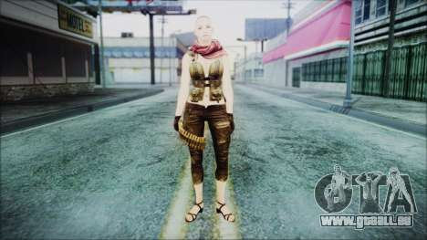 Mila Short Hair from Counter Strike pour GTA San Andreas deuxième écran