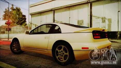 Nissan Fairlady Z Twinturbo 1993 pour GTA San Andreas laissé vue