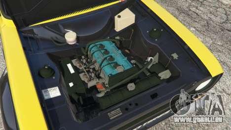 GTA 5 Ford Escort MK1 v1.1 [26] hinten rechts