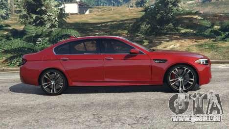 GTA 5 BMW 535i 2012 linke Seitenansicht