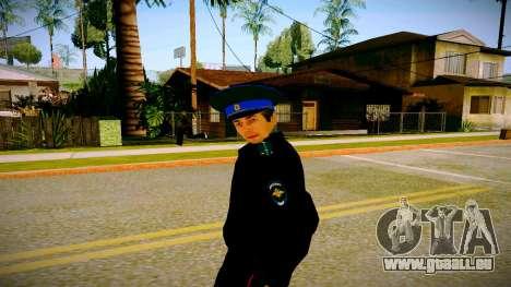 L'employé du Ministère de la Justice v3 pour GTA San Andreas deuxième écran