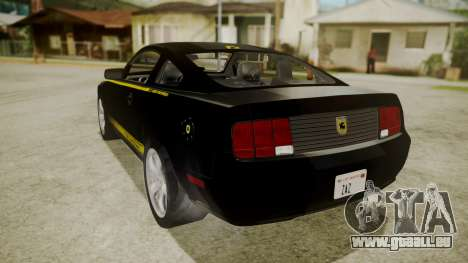 Ford Mustang Shelby Terlingua für GTA San Andreas linke Ansicht