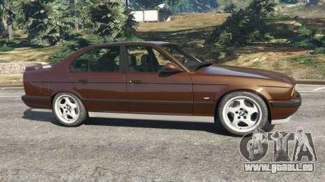 GTA 5 BMW M5 (E34) 1991 v2.0 linke Seitenansicht