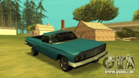 Voodoo El Camino v1 für GTA San Andreas Seitenansicht