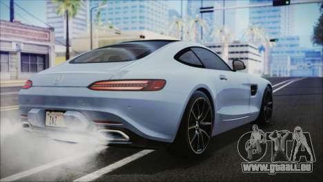 Mercedes-Benz AMG GT 2016 pour GTA San Andreas laissé vue