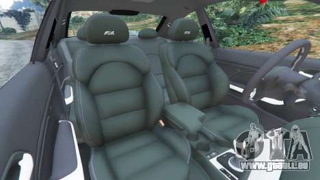 GTA 5 BMW M3 (E46) droite vue latérale