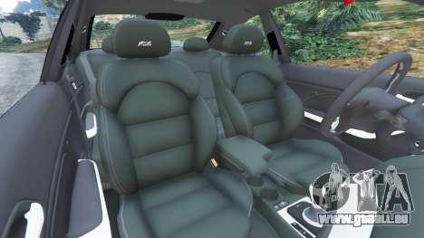 GTA 5 BMW M3 (E46) rechte Seitenansicht
