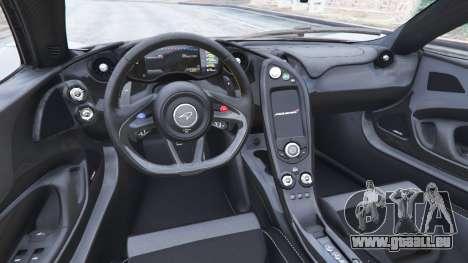 GTA 5 McLaren P1 2014 v1.5 hinten rechts