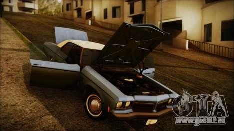 Oldsmobile Delta 88 1973 Final pour GTA San Andreas vue de droite