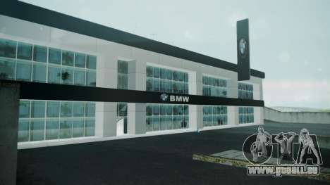 BMW Showroom pour GTA San Andreas