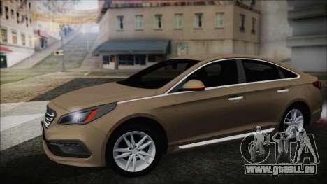 Hyundai Sonata 2015 für GTA San Andreas