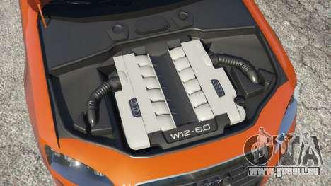 GTA 5 Audi A8 v1.1 hinten rechts