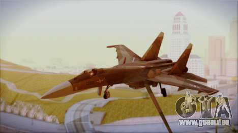SU-27 Flanker A Philippine Air Force für GTA San Andreas