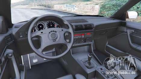 GTA 5 BMW M5 (E34) 1991 v2.0 rechte Seitenansicht