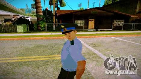 L'employé du Ministère de la Justice v2 pour GTA San Andreas deuxième écran