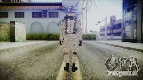 CODE5 Afghanistan pour GTA San Andreas troisième écran