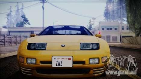 Nissan Fairlady Z Twinturbo 1993 pour GTA San Andreas vue de droite