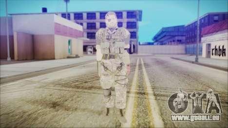MGSV Phantom Pain Snake Normal Woodland für GTA San Andreas zweiten Screenshot