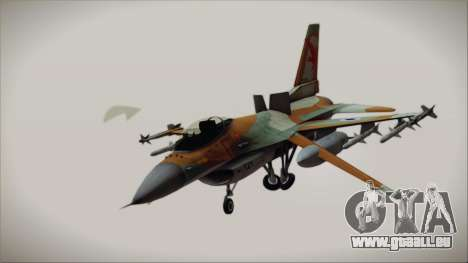 F-16C Block 25 Israeli Air Force pour GTA San Andreas